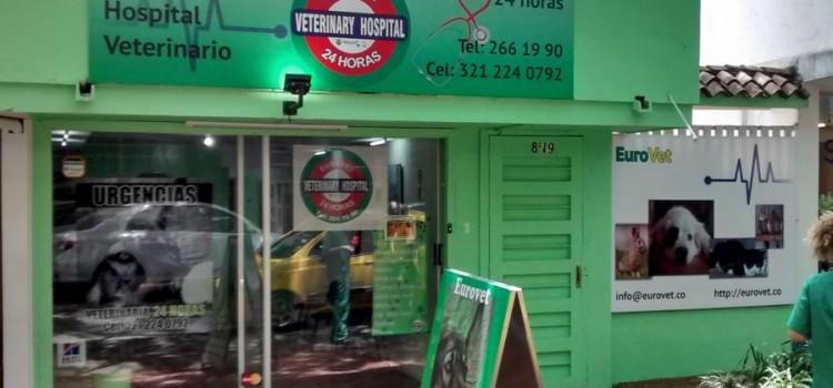 Nueva fachada de EuroVet, su hospital veterinario en El Poblado