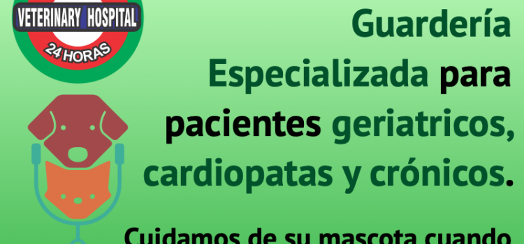 Nuevo servicio de Guardería especializada en pacientes geriátricos, cardiopatas y crónicos