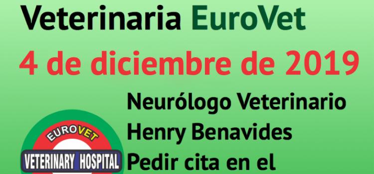 4 de diciembre, nueva Jornada de Neurología Veterinaria