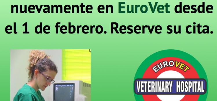 La Dra. Flors Graells nuevamente en EuroVet el 1 de febrero
